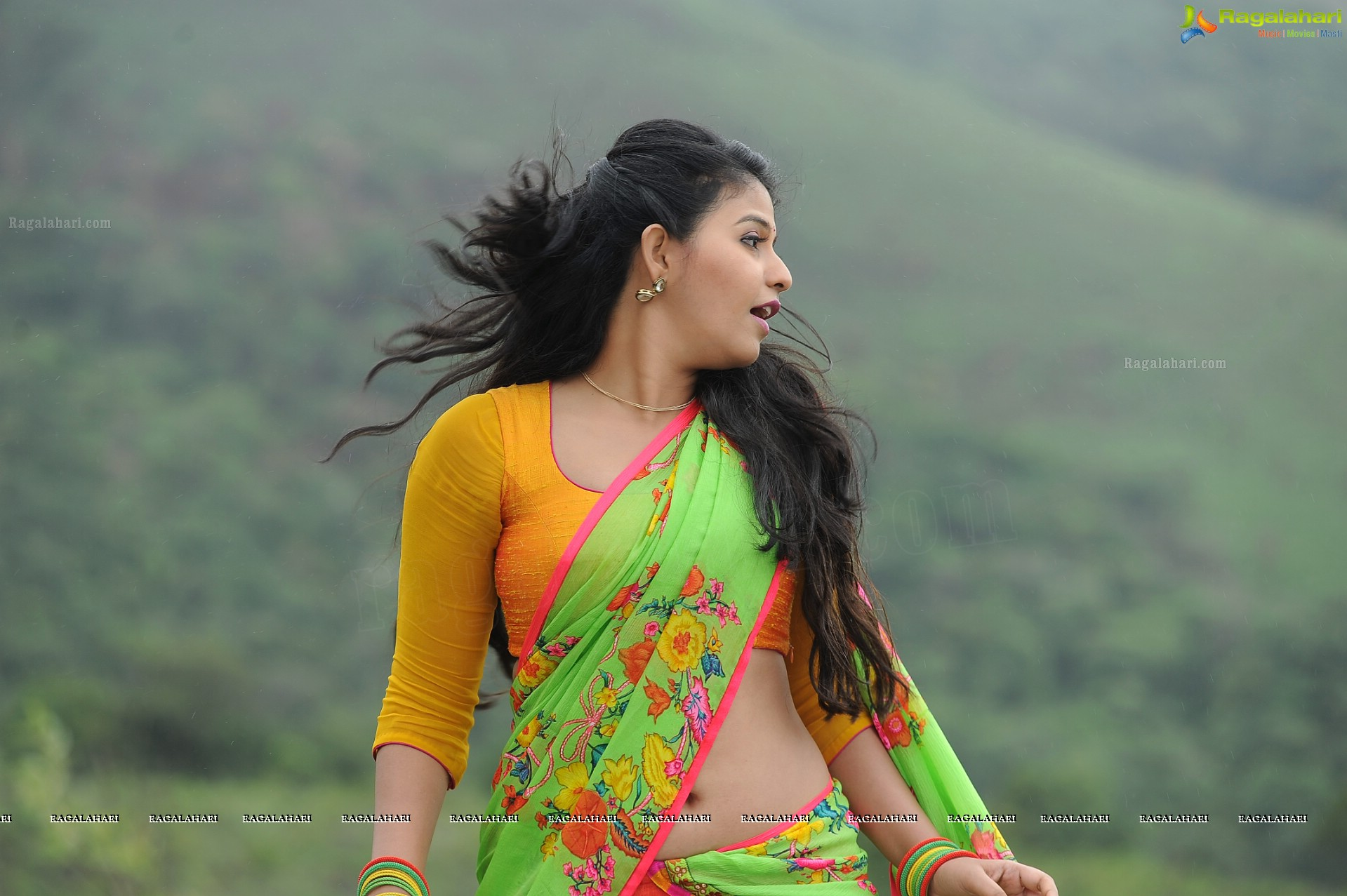 Telugu All Heroines Pictures Wallpapers: Anjali (High Definition) Image 52