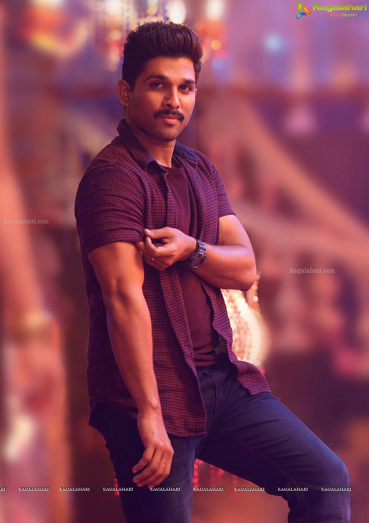 Stylish star allu arjun undergoes vigorous physical training in usa stylish star allu arjun usually prefers to go for new makeover for each new film starting from arya to dj he is the first south indian actor to don six altavistaventures Gallery
