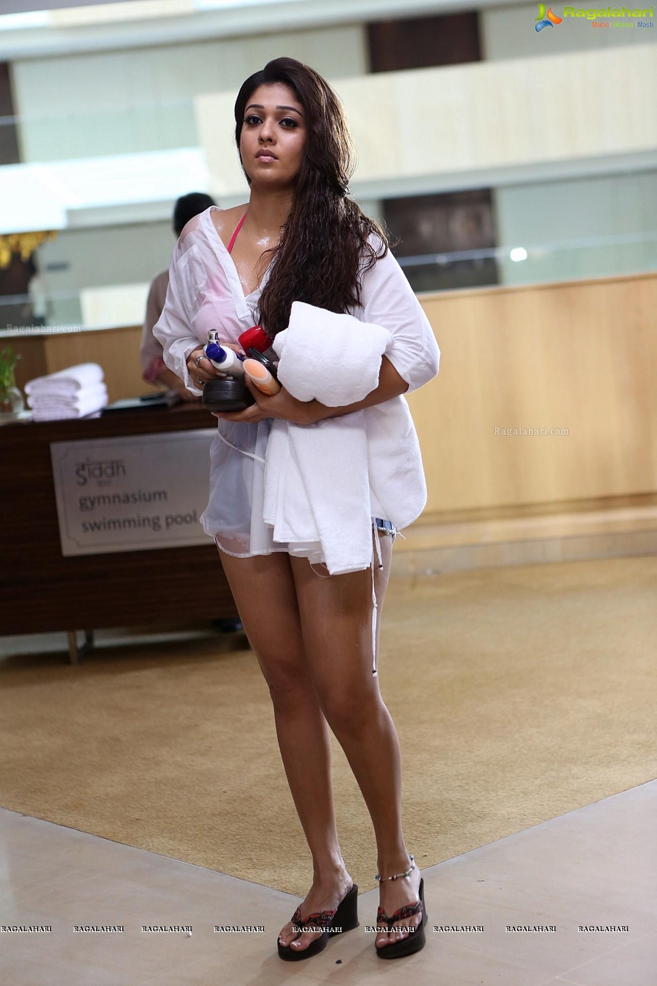 Nayantara Hot Stills From Aarambam