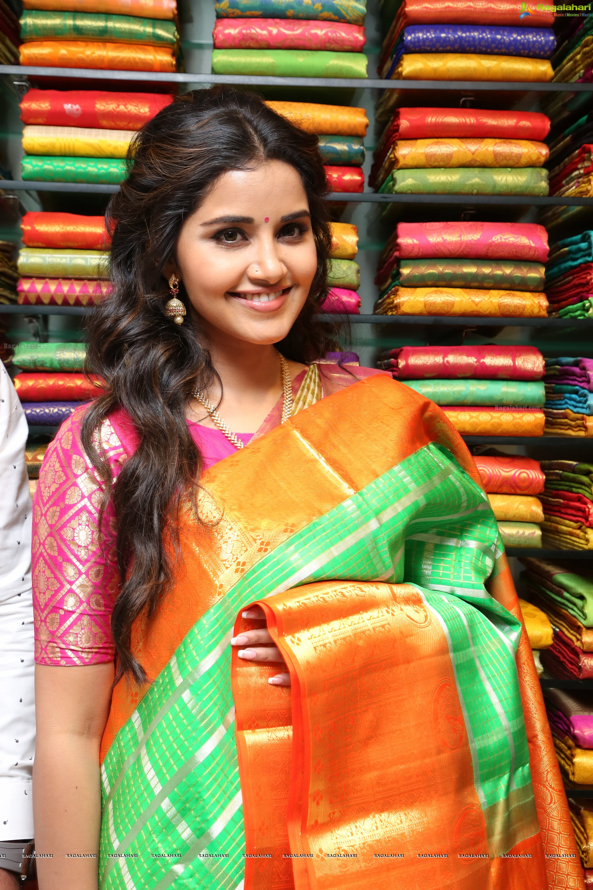 Anupama Parameshwaran Hd Designer Fancy Sections Launch At